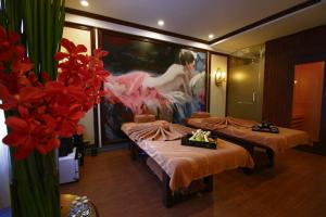 A room at The Scarlett Boutique Hotel