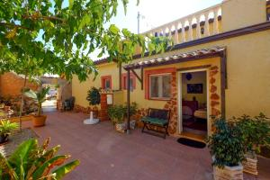 A porch or other outdoor area at Finca el Romero