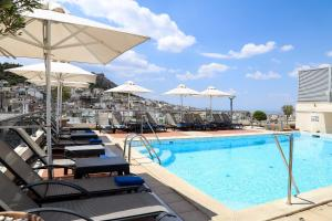 The swimming pool at or close to Athens Zafolia Hotel