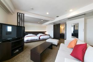 A room at Nagoya Kasadera Hotel