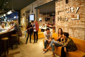 Guests staying at CityHub Amsterdam