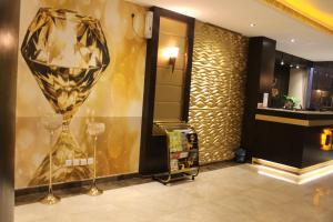 O saguão ou recepção de فندق دولف الرياض شارع العمرة Doolv hotel