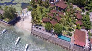 D'Tunjung Resort & Spa dari pandangan mata burung