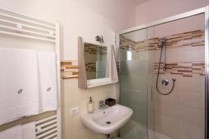 A bathroom at Cianciana