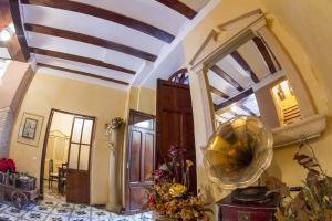 El vestíbulo o zona de recepción de La Casona Albaida
