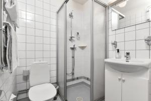 A bathroom at Hotel Bema