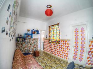O saguão ou recepção de Red Monkey Hostel: Barra Funda