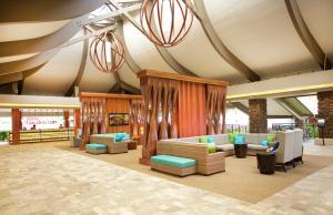 The lounge or bar area at Hilton Garden Inn Kauai Wailua Bay, HI