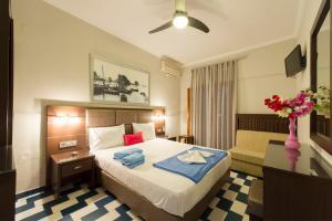 Ένα δωμάτιο στο Πανσιόν Νίκος Βέργος