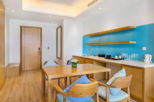 A kitchen or kitchenette at FLC Luxury Hotel Quy Nhon