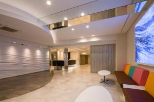 The lobby or reception area at SARASA HOTEL Namba
