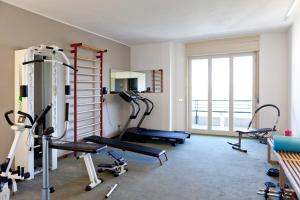 The fitness center and/or fitness facilities at Hotel San Michele