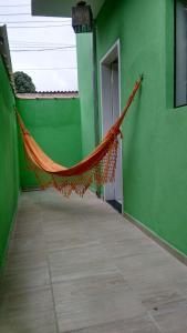 Uma varanda ou outra área externa em Apartamentos Recanto da Barra