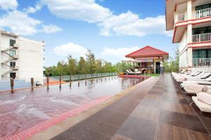 The swimming pool at or near Kiang Haad Beach Hua Hin