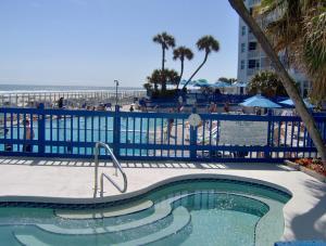 The swimming pool at or near Islander Beach Resort - New Smyrna Beach