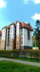 A garden outside Apartment Kaliningradskiy