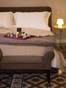 B&B シアラ ラルミシにあるベッド