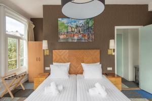 A room at Hotel Plantage