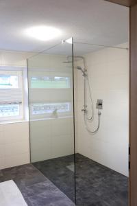 A bathroom at Ferienwohnung Köchl