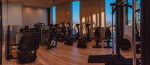 The fitness center and/or fitness facilities at Clarion Hotel Helsinki