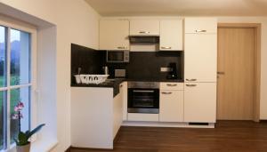 A kitchen or kitchenette at Ferienwohnung Köchl