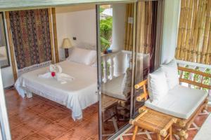 A room at Lanterna Hotel Boracay