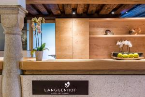 The lobby or reception area at Hotel Restaurant Langgenhof