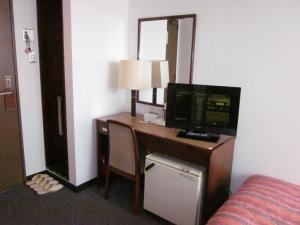 Televisi dan/atau pusat hiburan di Ayun Takayama Central Hotel