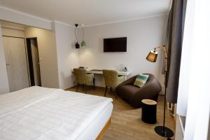 A bed or beds in a room at Der Stasta