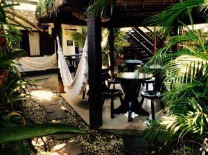 O lounge ou bar de Pousada Canto Verde