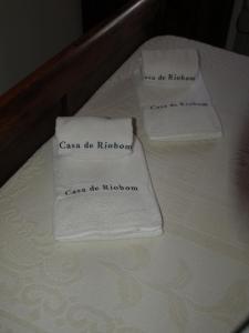 מיטה או מיטות בחדר ב-Casa de RioBom