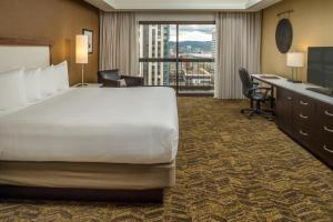 A room at DoubleTree by Hilton Portland