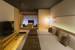 A room at Hotel Kanra Kyoto