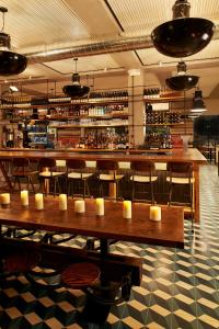 The lounge or bar area at Arlo SoHo