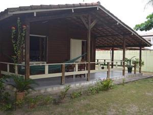 A porch or other outdoor area at Residencial do bosque