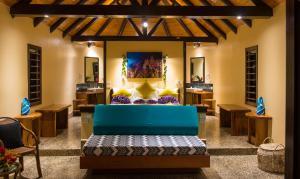 The lounge or bar area at Taveuni Dive Resort