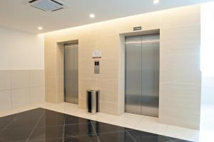 A bathroom at Hotel Arissa