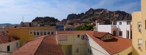 A balcony or terrace at Hotel Sevdali