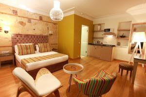 Гостиная зона в Alp Pasa Hotel