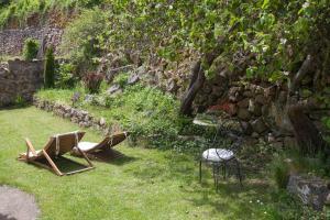 Un patio o zona al aire libre en Posada de Urreci