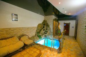 The swimming pool at or near Hotel Desatka