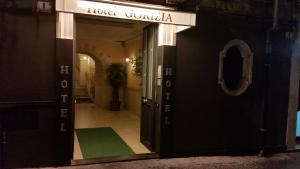 The facade or entrance of Hotel Gorizia