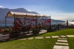 Jardin de l'établissement Villa Perla del Lago