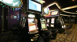 The lounge or bar area at Grand Diamond City Hotel & Casino