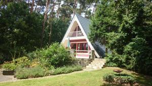 Ein Garten an der Unterkunft Ferienhaus Rudolf