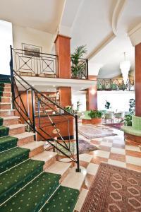 Vstupní hala nebo recepce v ubytování Hotel Splendid