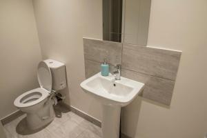 A bathroom at Town Centre Apartments