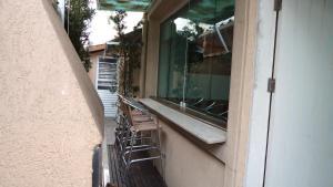Uma varanda ou terraço em Casa do Pippo - Enseada