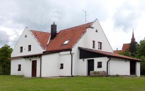 Zahrada ubytování Chalupa Hubertus