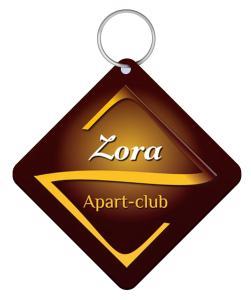 Certifikát, ocenenie alebo iný dokument vystavený v ubytovaní Apart-club Zora